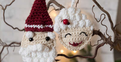Mrs. Claus crochet ornament – and Norwegian Christmas traditions