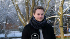 Crochet mens cowl