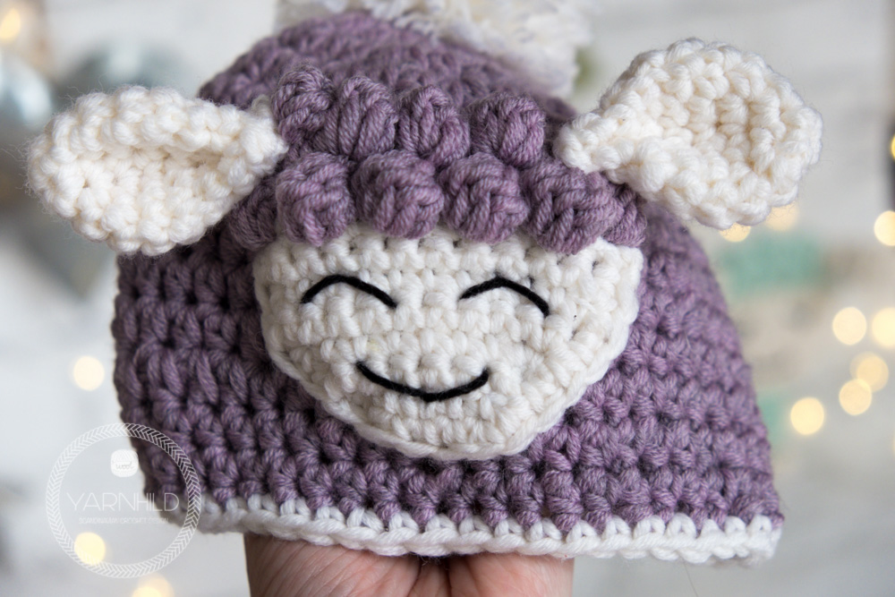 Crochet Baby Hat Sverre The Lamb Free Pattern On Yarnhild