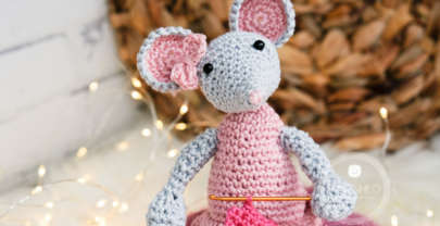 Lisa the mouse – A free crochet pattern