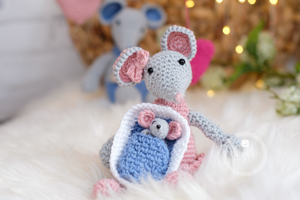 Adorable crochet baby mouse pattern - Free crochet pattern ...