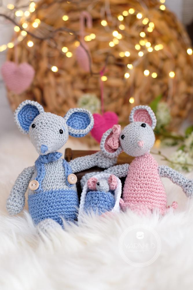 Crochet Tiny Mouse – Craft Ideas | 1000x667