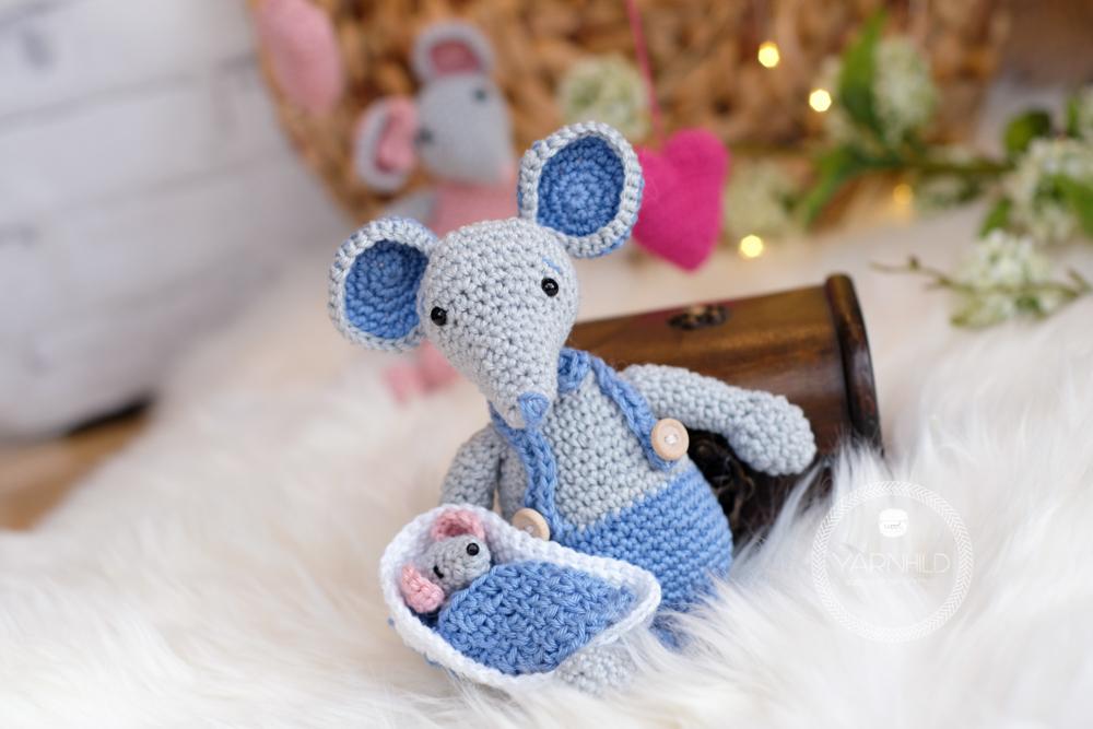 Crochet Tiny Mouse Amigurumi Free Patterns | Crochet animals free ... | 667x1000