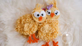 free crochet pattern easter chicks