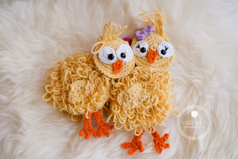 Crochet Easter Chicks A Free Crochet Pattern Yarnhild Com