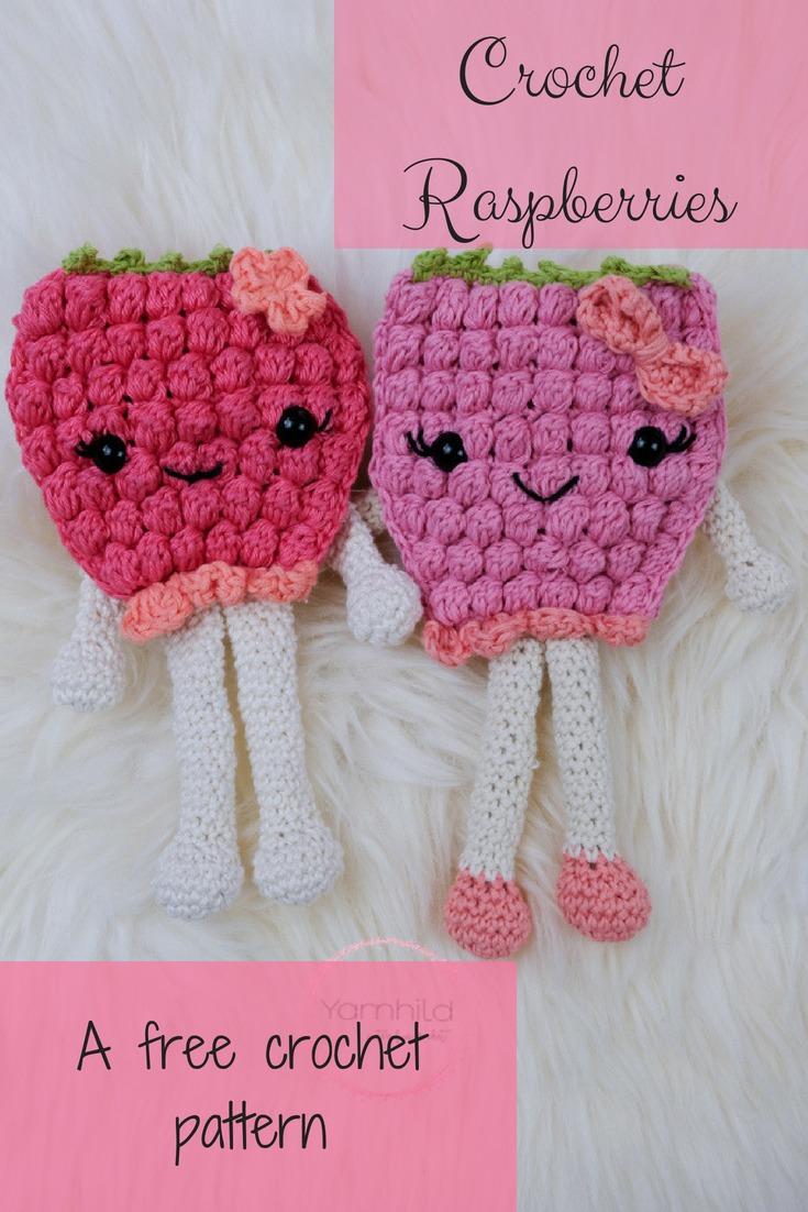 Crochet Berry Pattern A Free Crochet Pattern Yarnhild