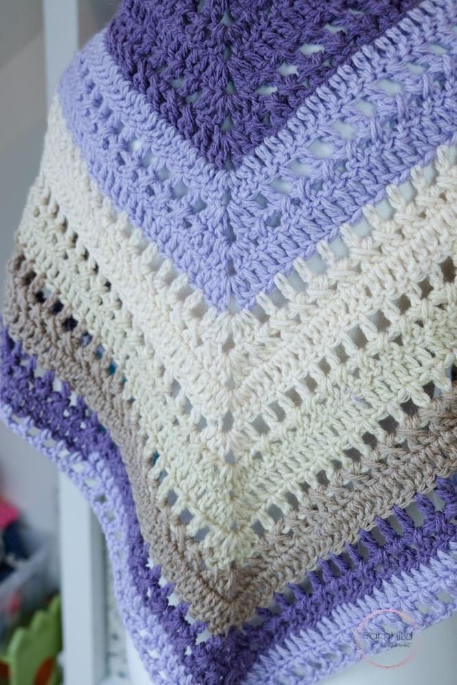 Lavender Delight Crochet Shawl Pattern Free Crochet Pattern