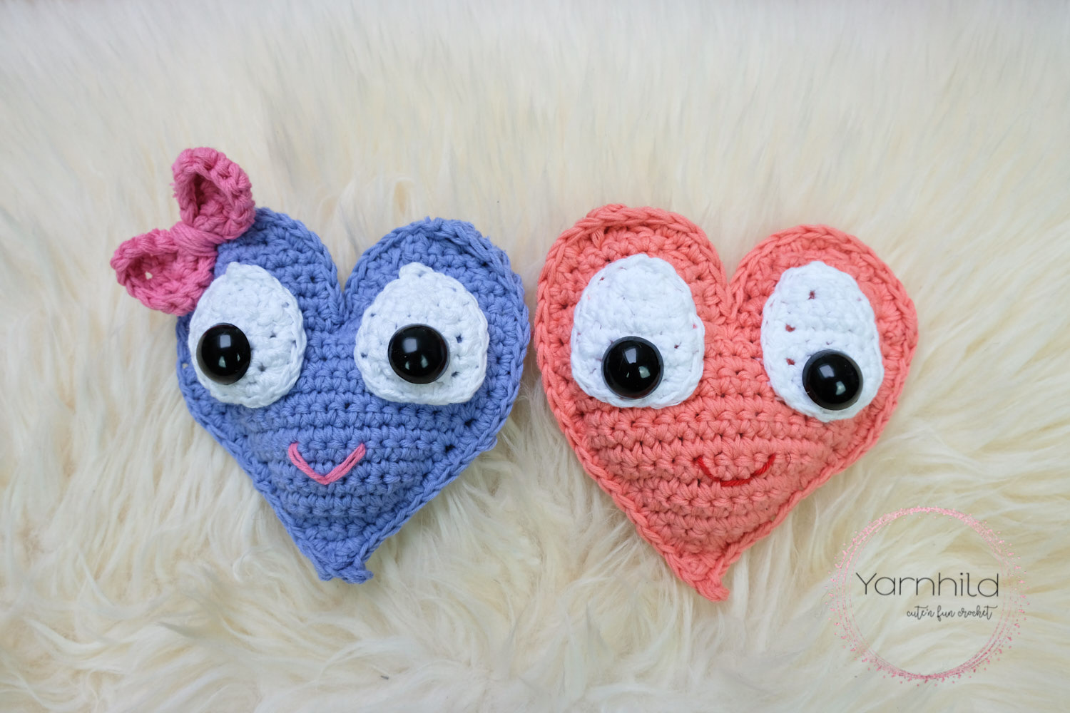 Crochet Heart For Valentines Day Crochet Ragdoll Heart By Yarnhild