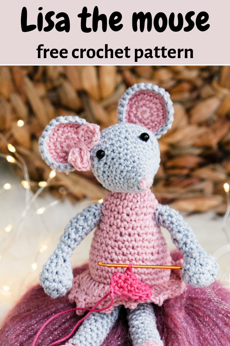 Knitted mouse | Crochet Toys - Author's crochet toys & patterns | 1102x735