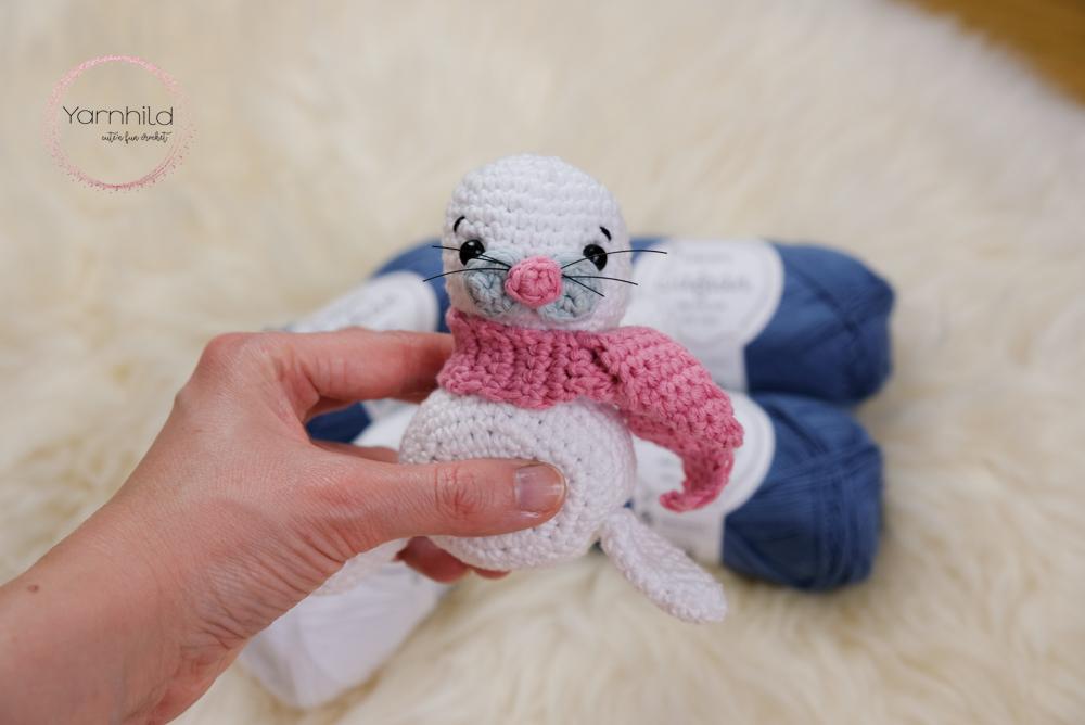 Seal of approval – Free crochet amigurumi pattern by TRH – Blog by ... | 668x1000