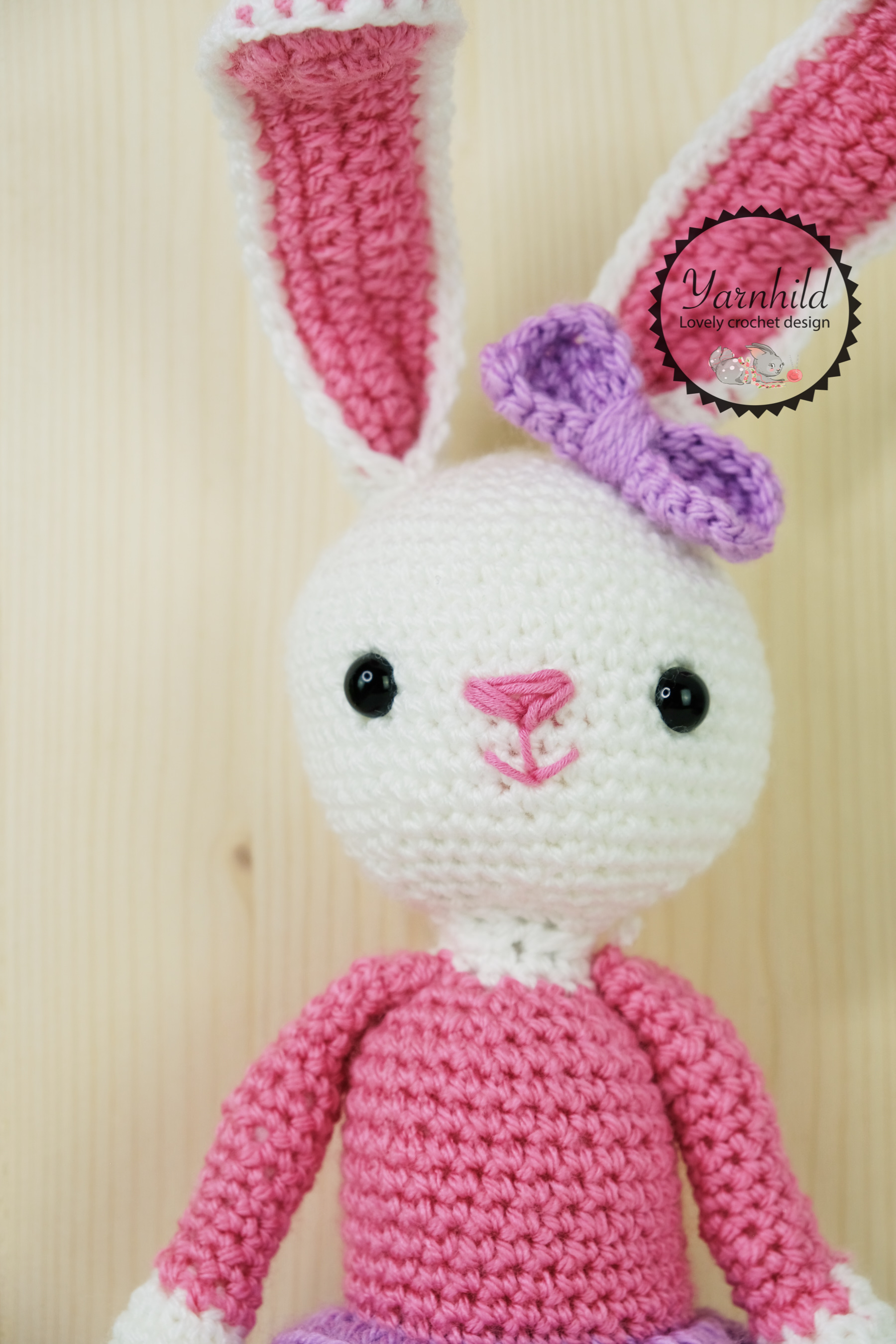 "by sharn - ""Shy Unicorn Crochet Doll"" This gorgeous Doll... 
