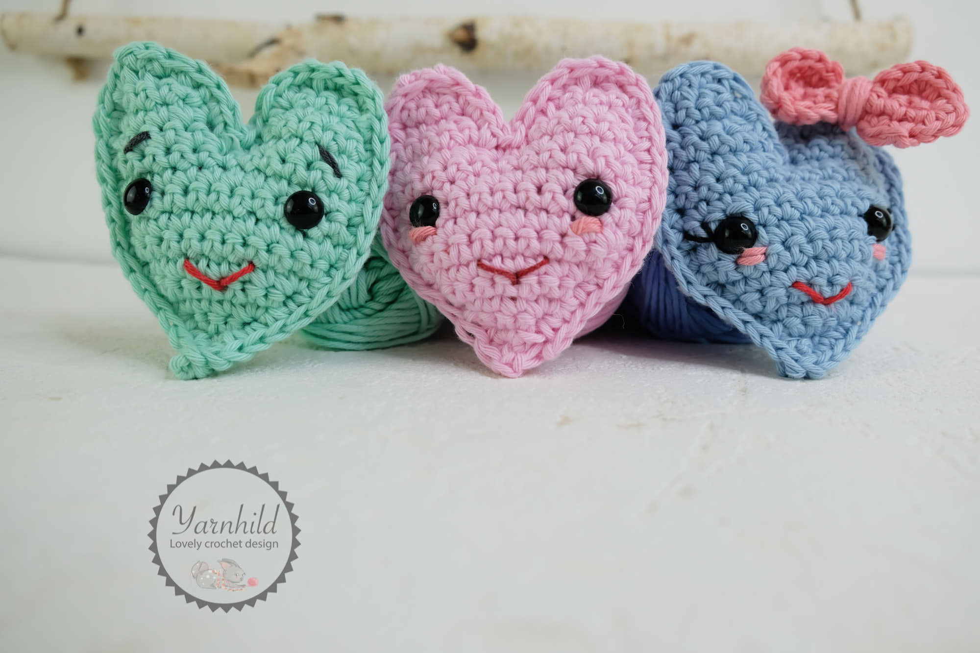 Crochet Heart by Yarnhild