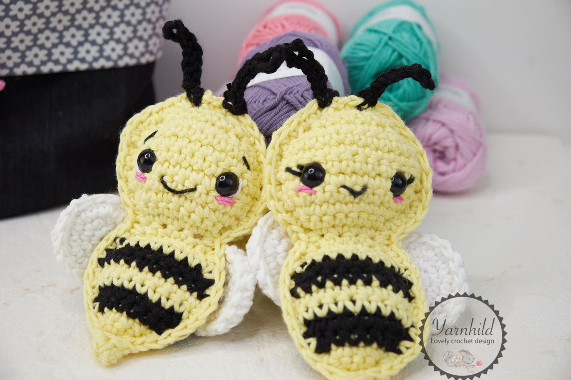 Crochet Bumble Bee Backpack Free Pattern - Crochet For You | 1333x2000